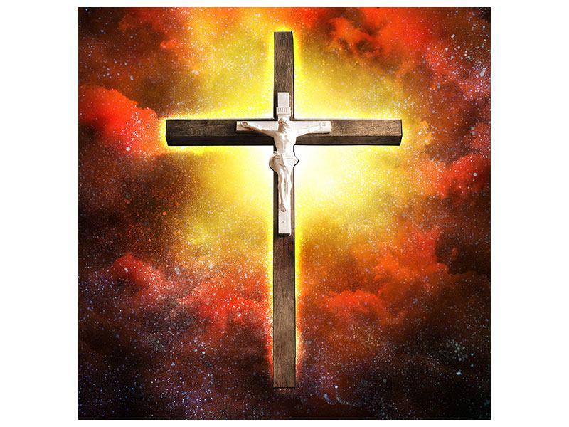 Hartschaumbild Heiliges Kreuz