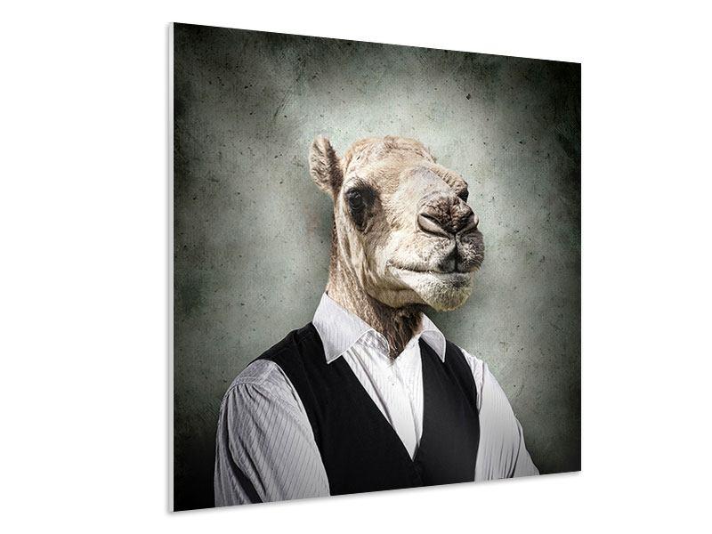 Hartschaumbild Das Portrait