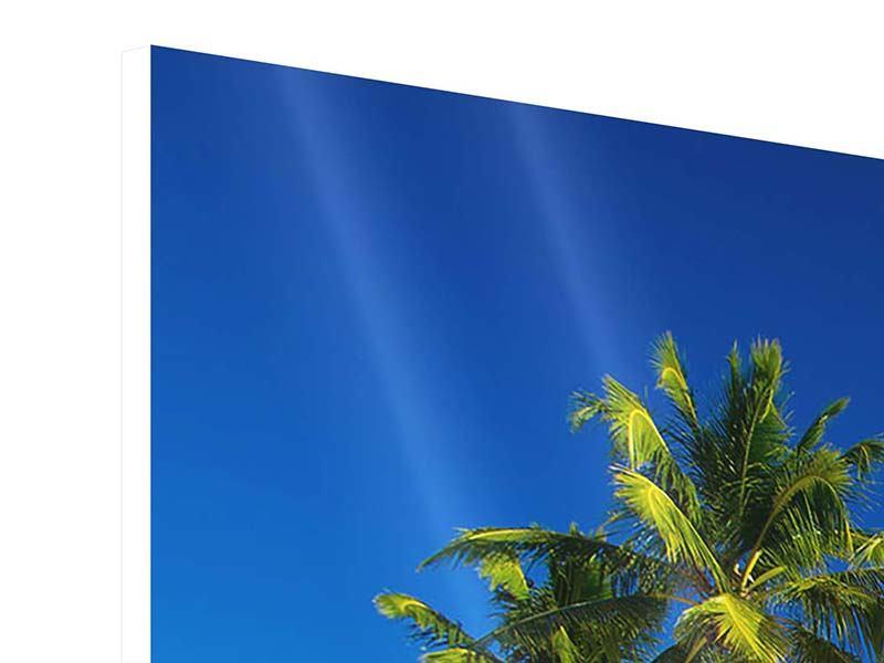 Hartschaumbild Aloha