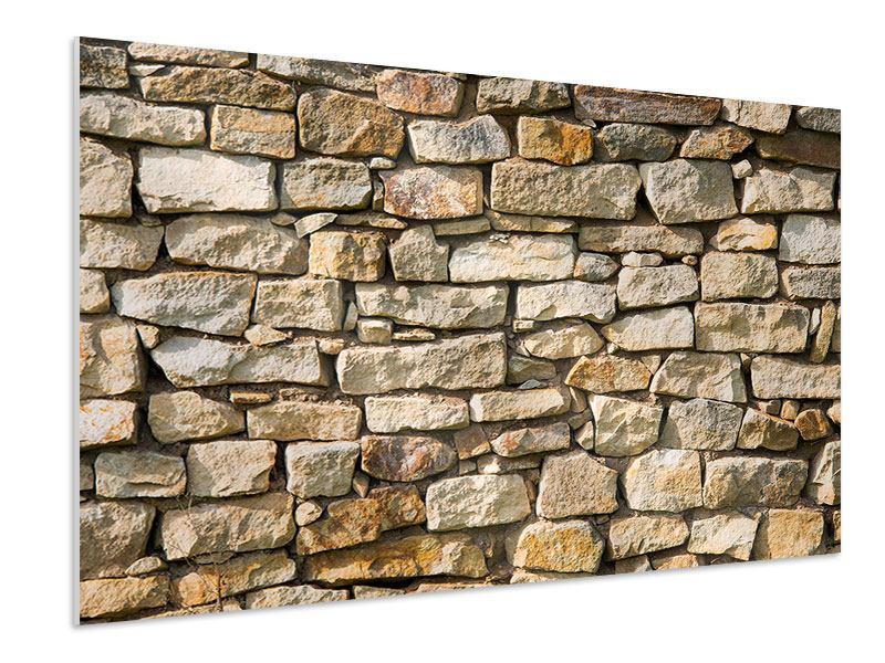 Hartschaumbild Natursteine