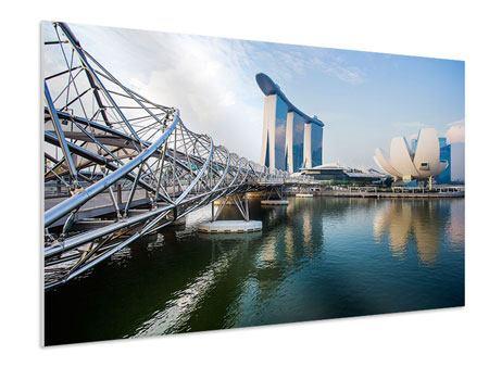 Hartschaumbild Singapur