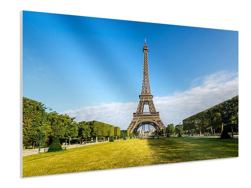 Hartschaumbild Der Eiffelturm in Paris