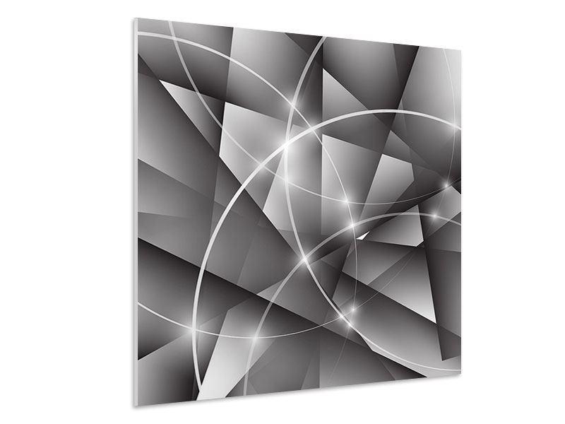 Hartschaumbild Geometrie