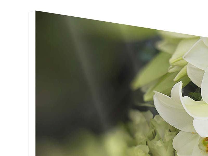 Hartschaumbild Die Lilien und Friends