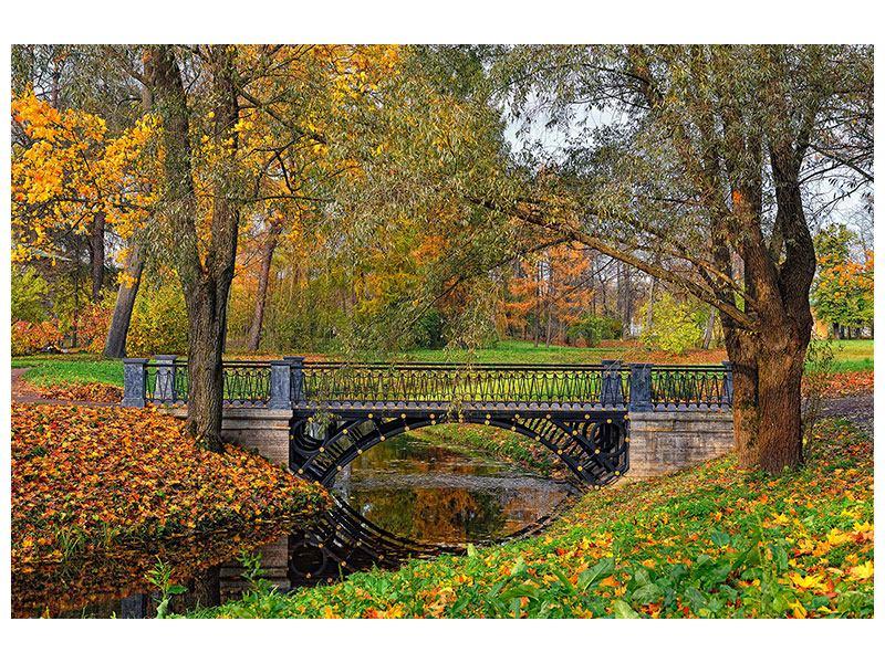 Hartschaumbild Romantischer Park