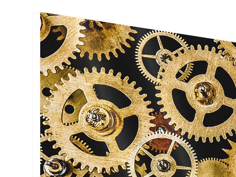 Hartschaumbild Clockwork