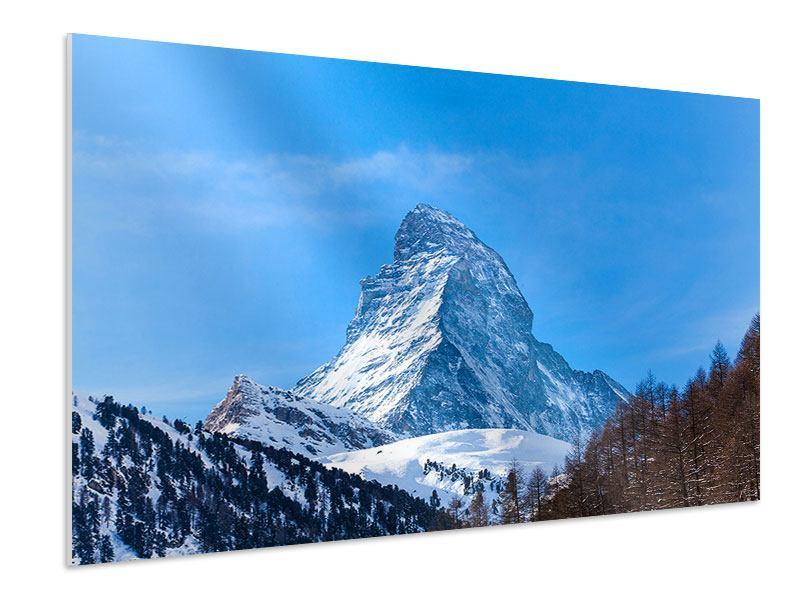 Hartschaumbild Das majestätische Matterhorn