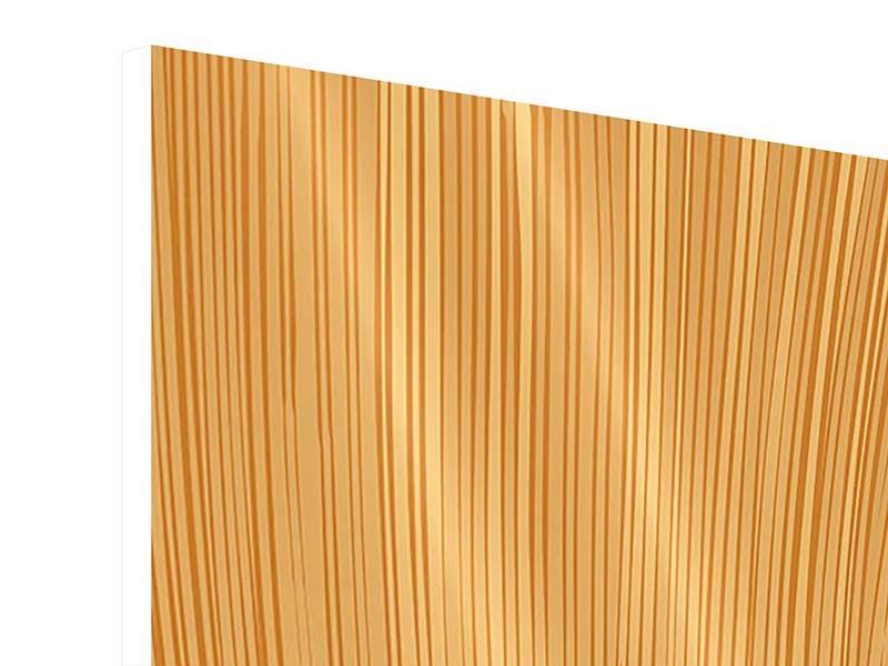Hartschaumbild Wooden