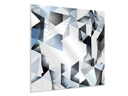 Hartschaumbild 3D-Kristalle