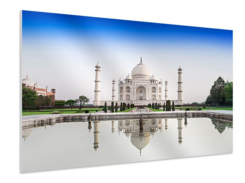 Hartschaumbild Taj Mahal