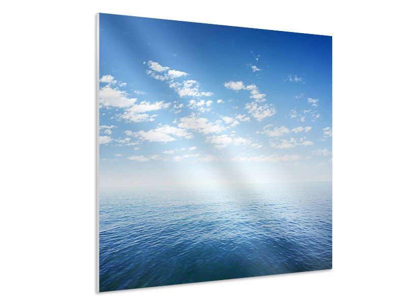 Hartschaumbild Unendlichkeit Meer