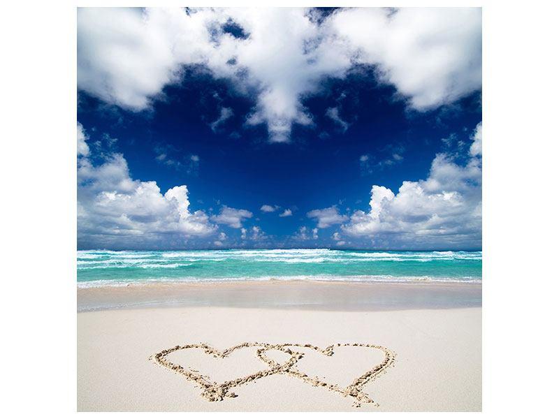 Hartschaumbild Strandliebe