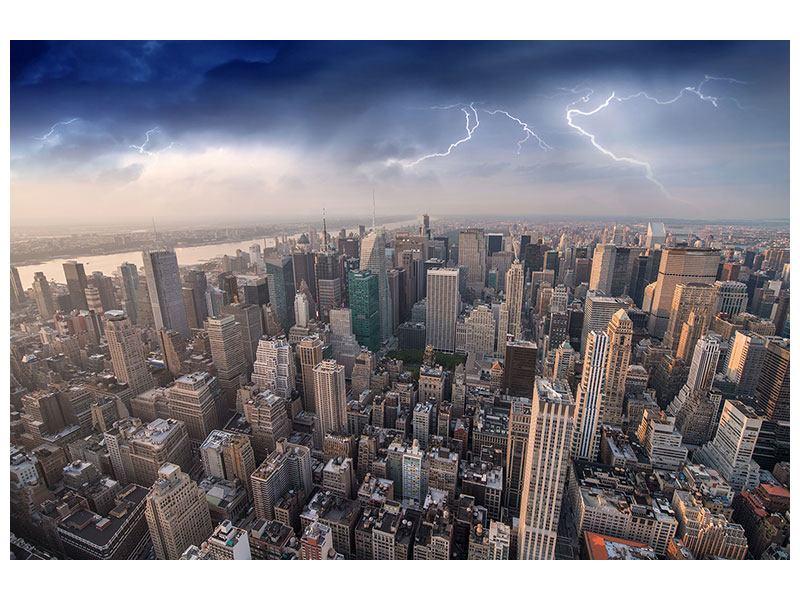 Hartschaumbild Manhattan