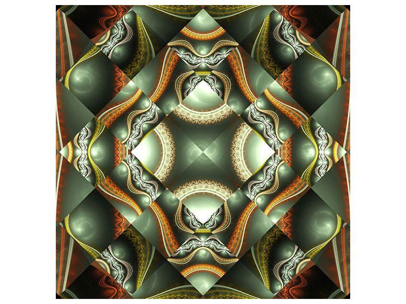 Hartschaumbild Fraktales Bild