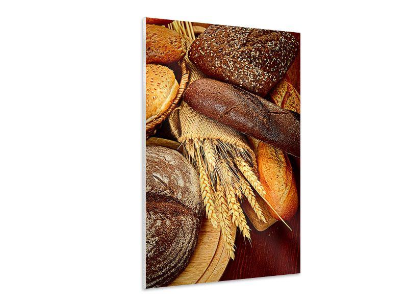 Hartschaumbild Brote