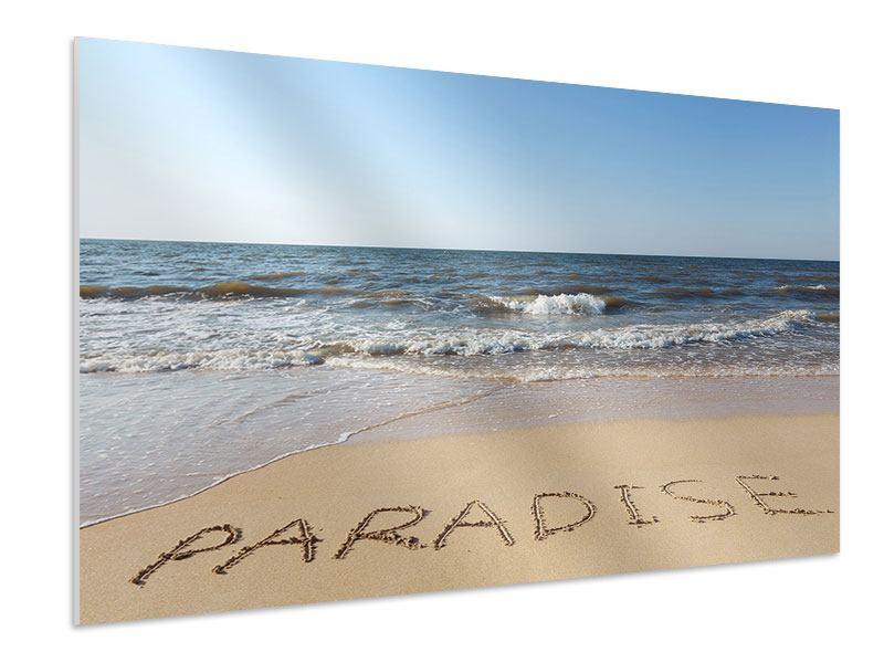 Hartschaumbild Sandspuren