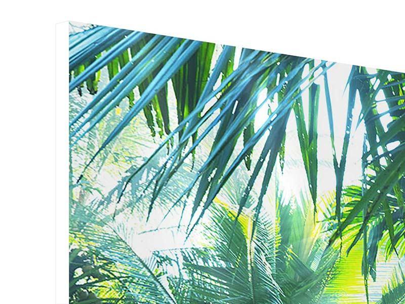 Hartschaumbild Im Tropenwald