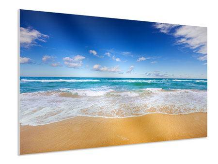 Hartschaumbild Die Gezeiten und das Meer
