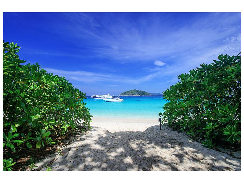 Hartschaumbild Similan-Inseln