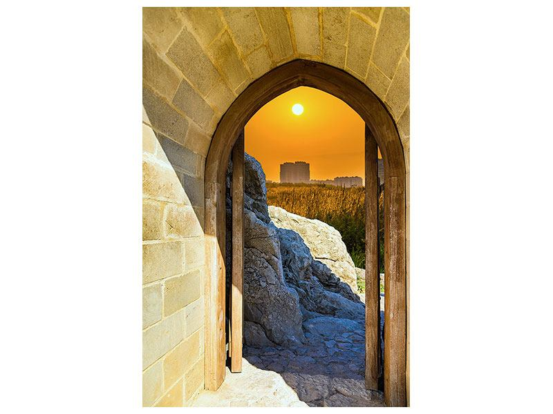 Hartschaumbild Das Tor