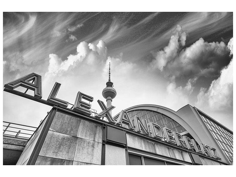 Hartschaumbild Alexanderplatz