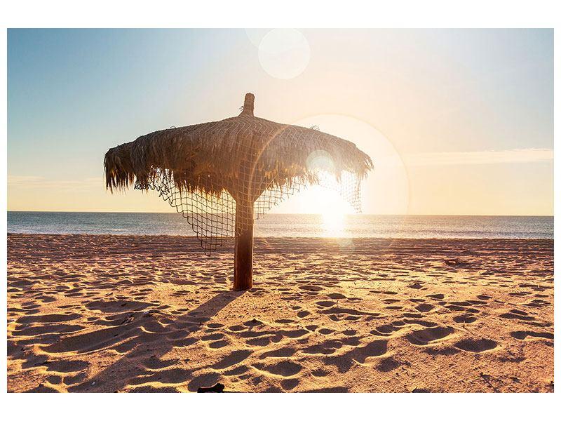 Hartschaumbild Der Sonnenschirm