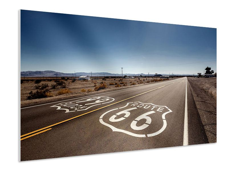 Hartschaumbild Route 66