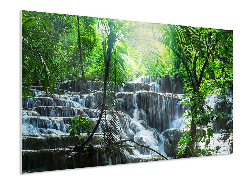 Hartschaumbild Wasserfall Agua Azul