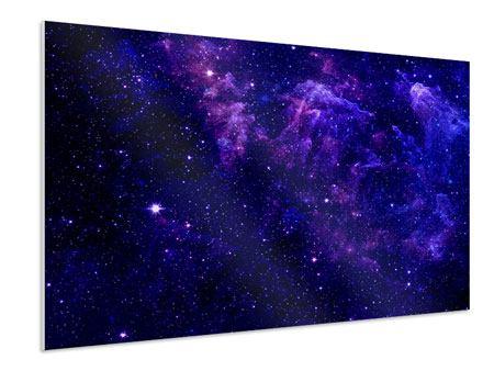 Hartschaumbild Ein Himmel voll Sterne