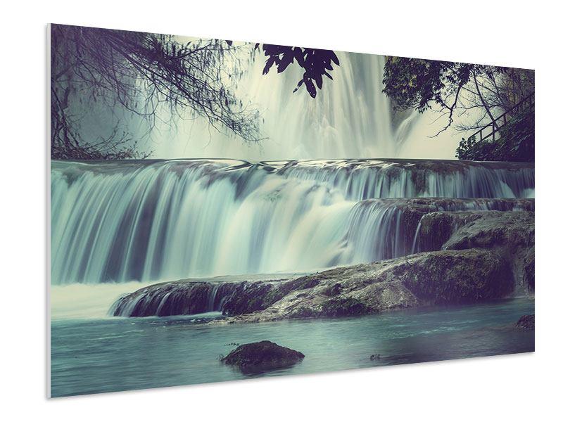 Hartschaumbild Wasserfall Mexiko