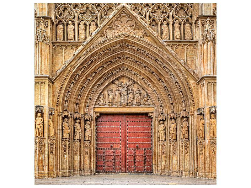 Hartschaumbild Kathedrale von Valencia