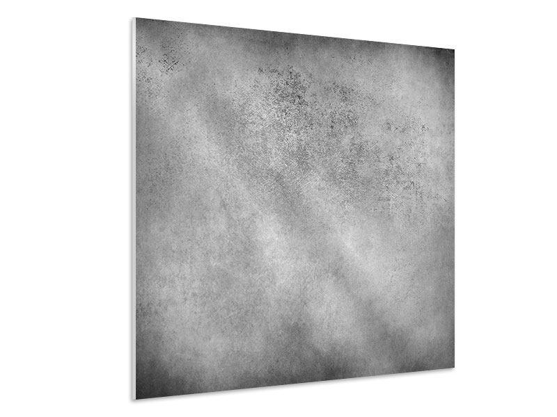 Hartschaumbild Graue Wandschattierungen