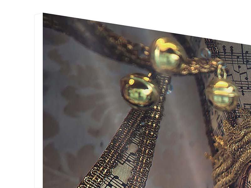 Hartschaumbild Venezianische Maske
