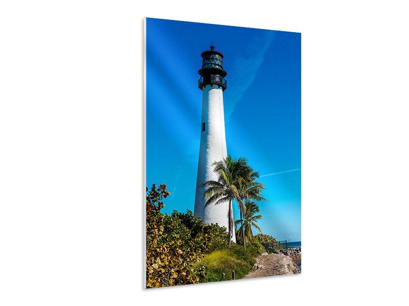 Hartschaumbild Leuchtturm