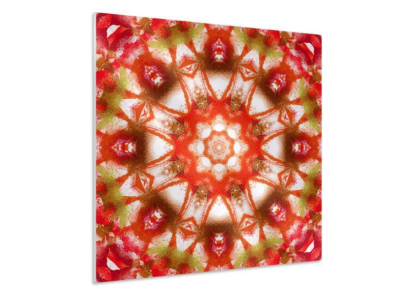 Hartschaumbild Geometrisches Gemälde