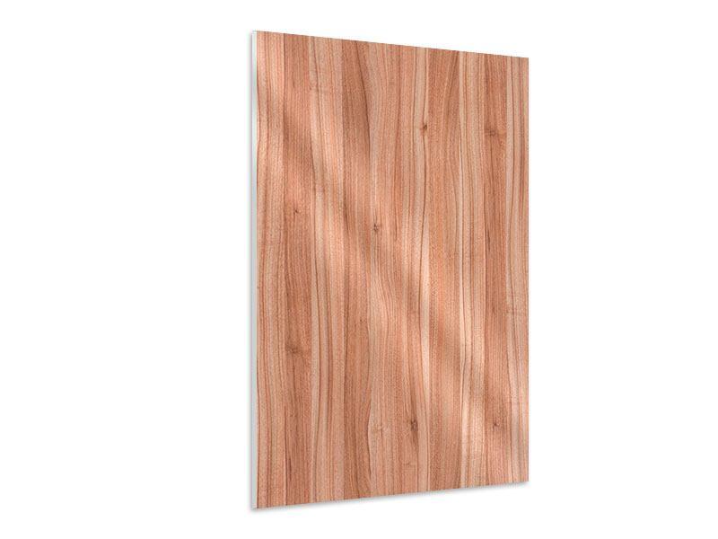 Hartschaumbild Holzdesign