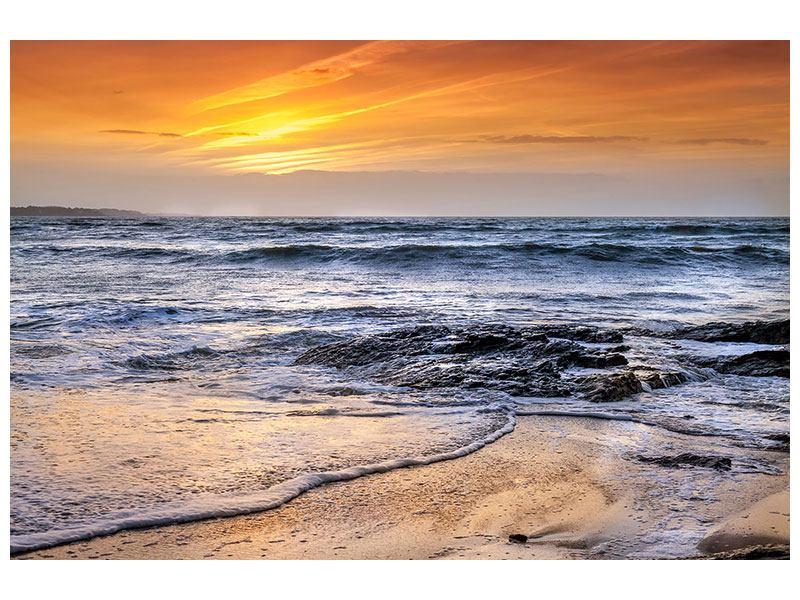 Hartschaumbild Das Meer