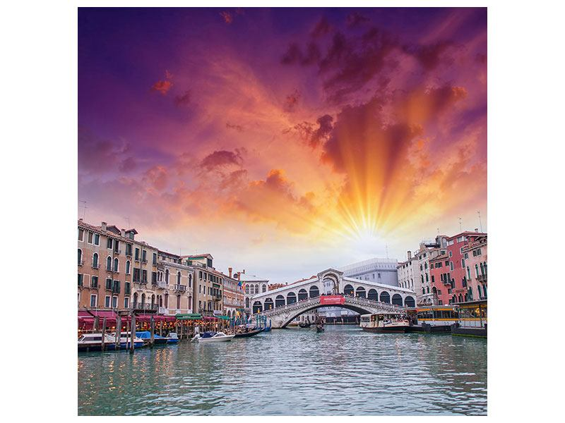Hartschaumbild Venedig
