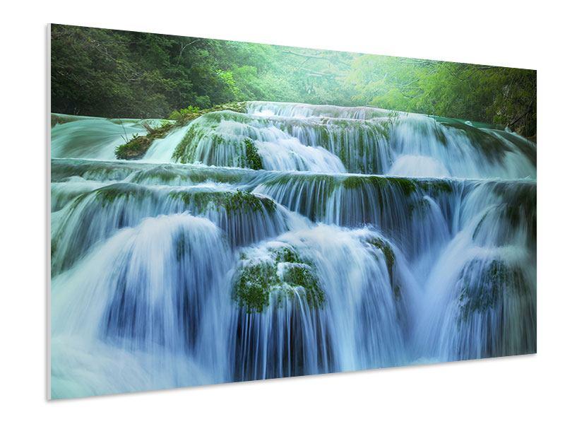 Hartschaumbild Gigantischer Wasserfall