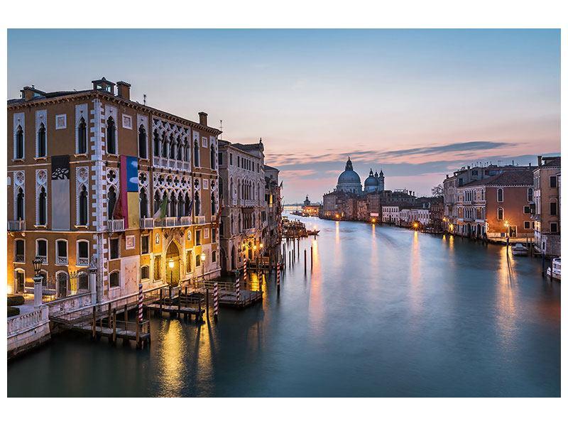Hartschaumbild Romantisches Venedig