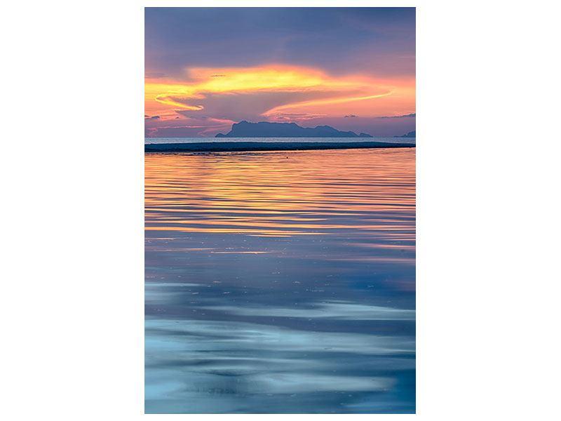 Hartschaumbild Ruhige See