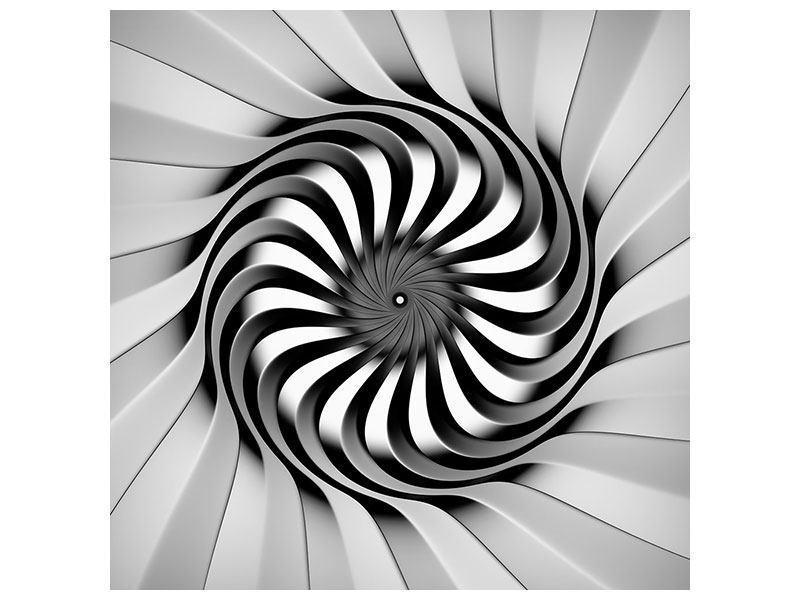 Hartschaumbild Abstrakte Spirale