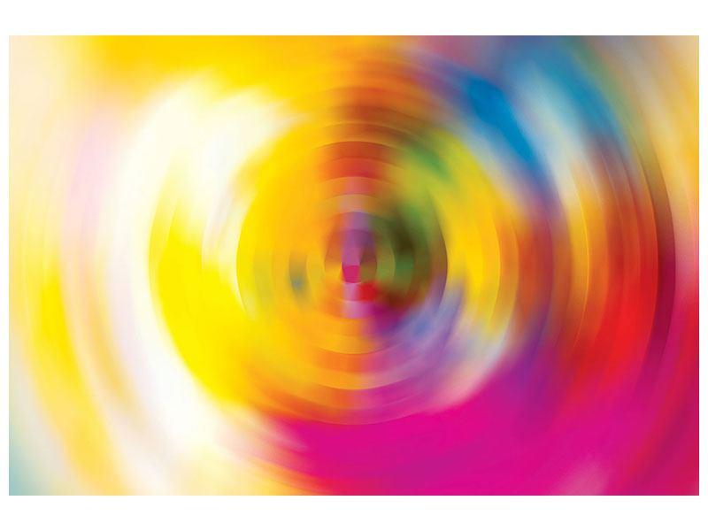 Hartschaumbild Abstrakte Farbkreise
