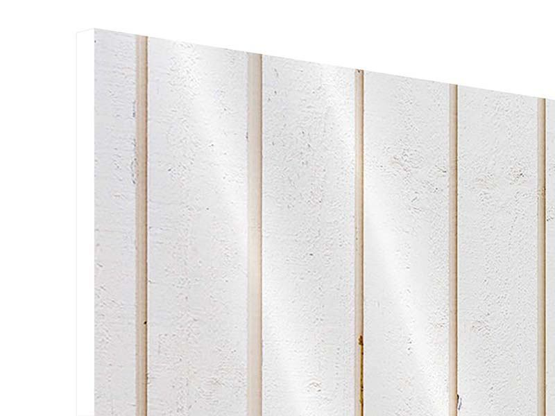 Hartschaumbild 5-teilig Mediterranes Holz