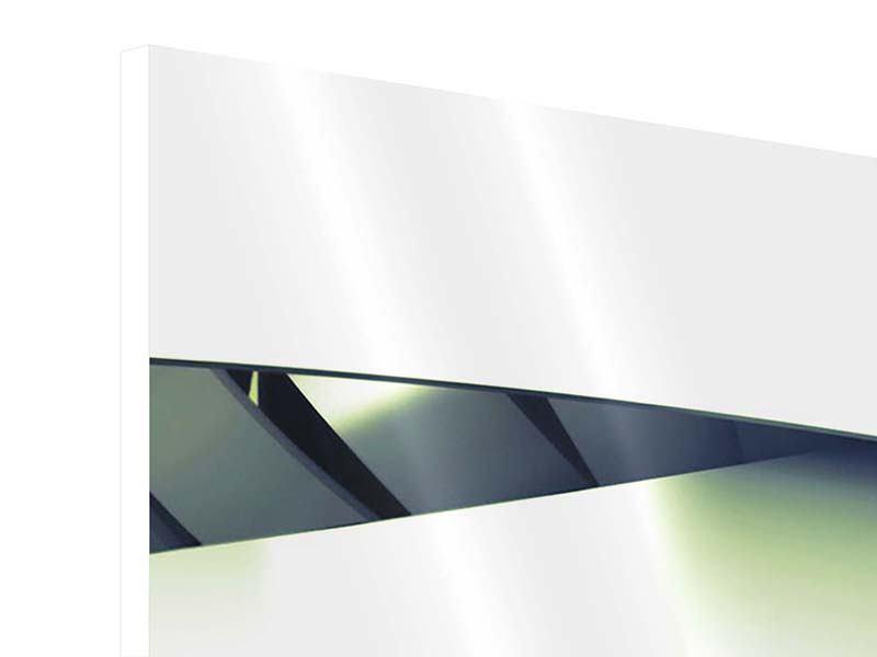 Hartschaumbild 5-teilig Abstrakte Perspektiven
