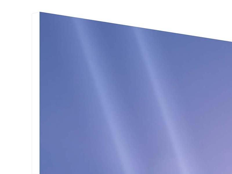 Hartschaumbild 5-teilig Sonnenaufgang beim Mount Everest
