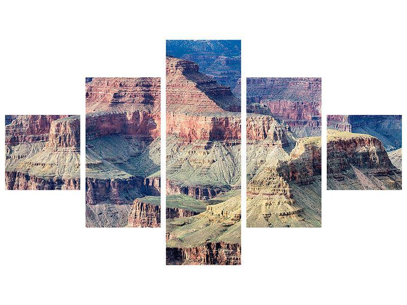 Hartschaumbild 5-teilig Gran Canyon