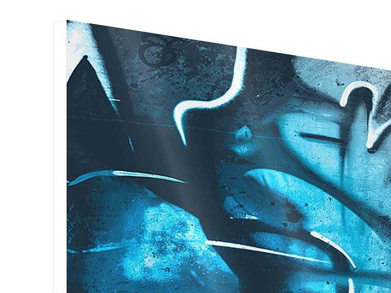 Hartschaumbild 5-teilig modern Painting On The Wall