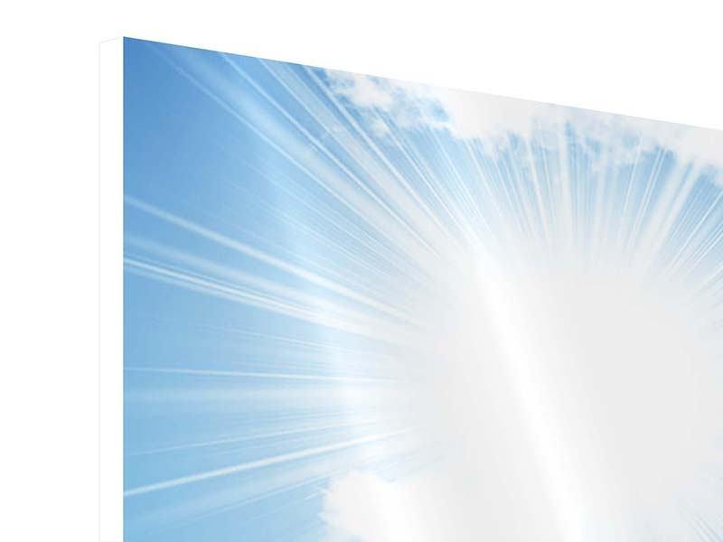 Hartschaumbild 5-teilig modern Am Himmel
