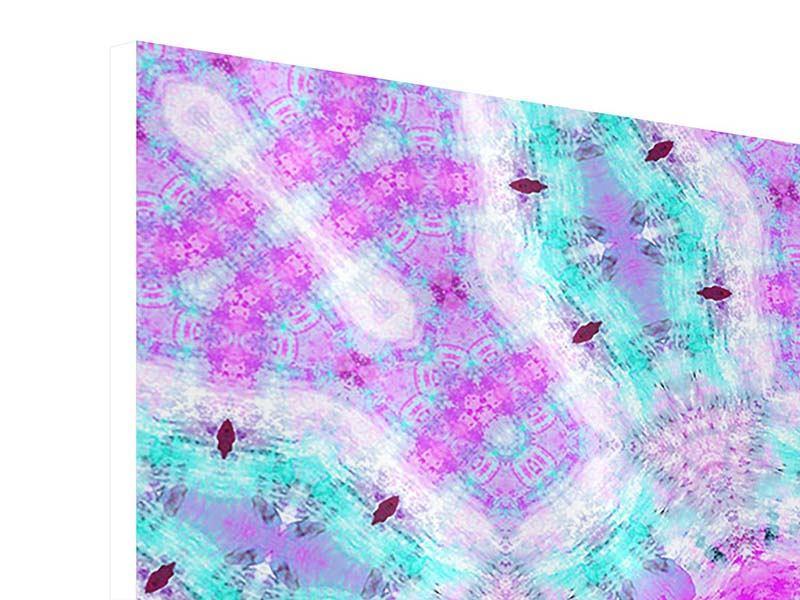 Hartschaumbild 9-teilig Lilac